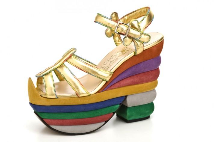 Ferragamo Rainbow Shoes Ferragamo Rainbow Shoes – 1938
