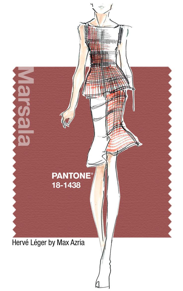Marsala – How to where the color of the year