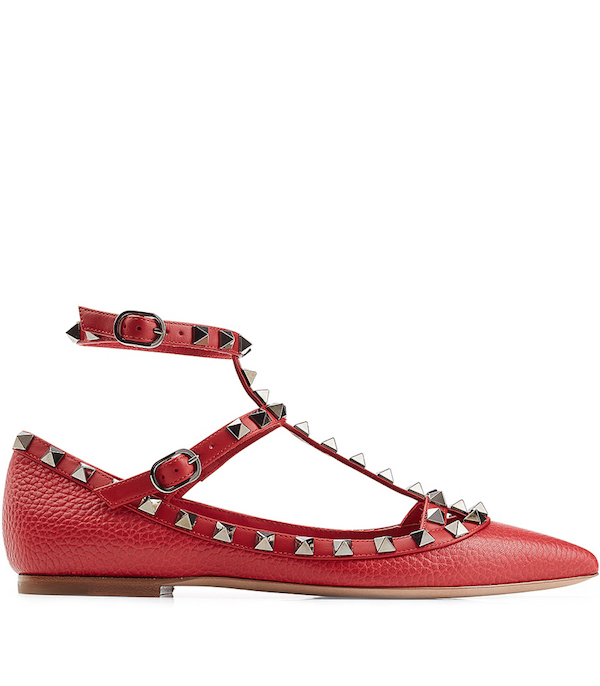 valentino-rockstud-leather-flats-red-top