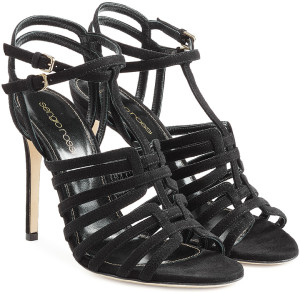 Sergio Rossi - Suede Stiletto Sandals