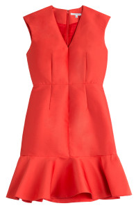 Carven - Dress With Ruffled Hem