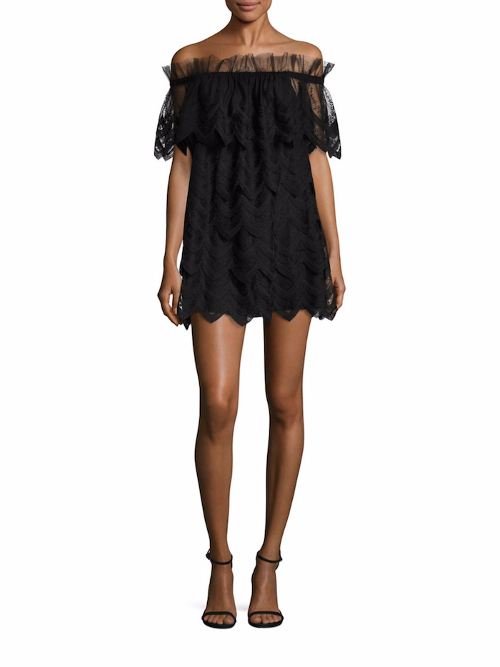 Alexis Ali Off The Shoulder Lace Dress Fashion Style Fan