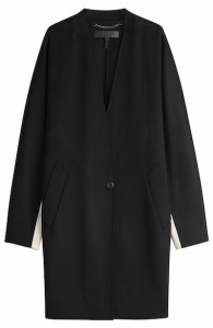 Rag and Bone - Colorblock Wool Coat