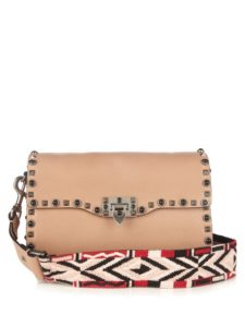 VALENTINO - Rockstud Rolling leather cross-body bag