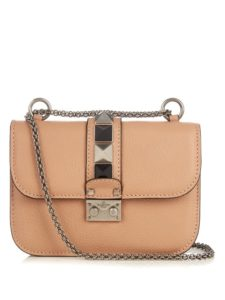 VALENTINO - Lock Rolling small leather shoulder bag