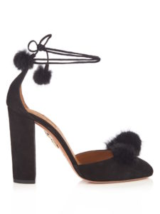 Aquazzura - Wild Russian Fur and Suede Pumps