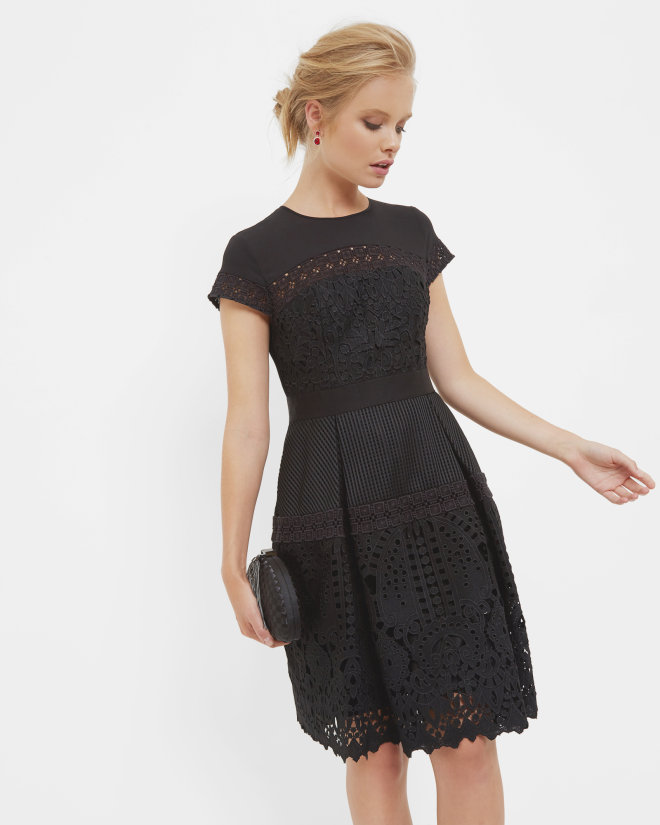 Ted Baker Jamisen Layered Lace Dress