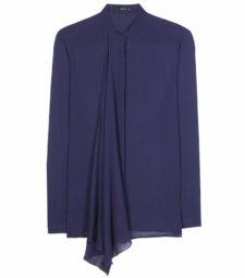 Etro - Silk Chiffon Blouse - Navy
