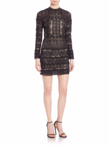 Parker - Julie Lace Dress - Black