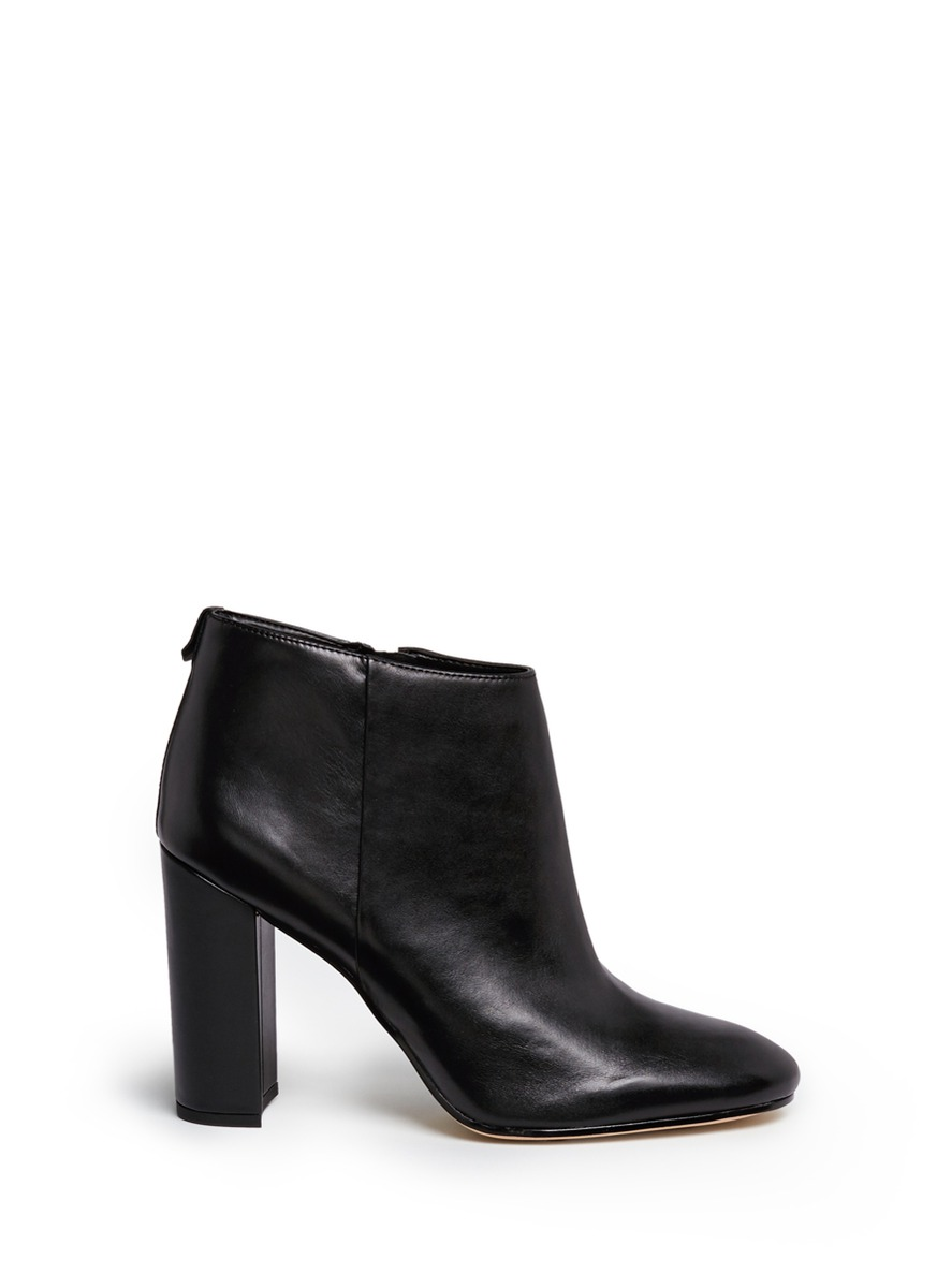 15663de14 Sam Edelman - Cambell Leather Ankle Boots - Black