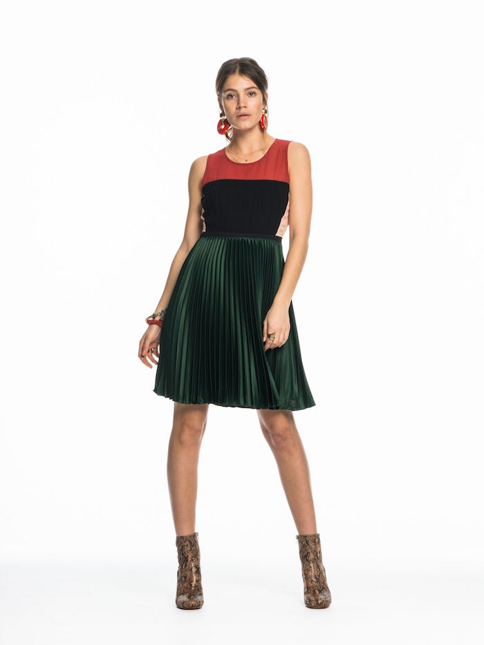 Home / Clothing / Dresses / Scotch & Soda – Pleated Cocktail Dress