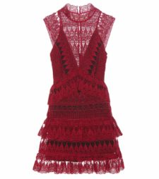Self-Portrait - Teardrop Guiepere Lace Dress