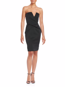 Finders Keepers - In Between Days Strapless Sheath Dress