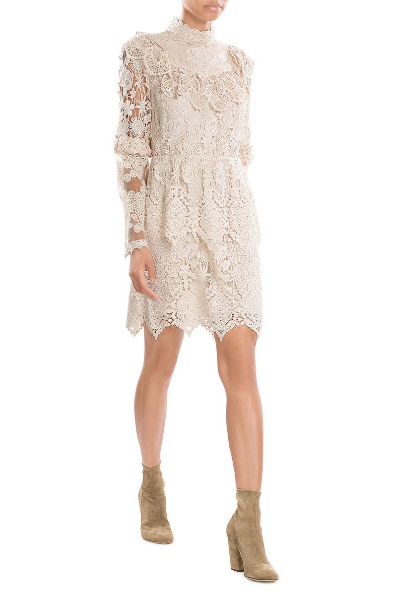 Anna Sui Lace Dress Fashion Style Fan