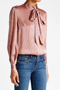 By Malene Birger - Printed Silk Blouse