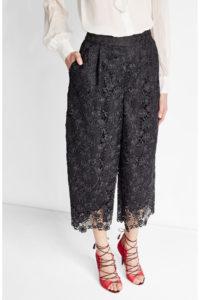 Diane Von Furstenberg - Cropped Lace Pants