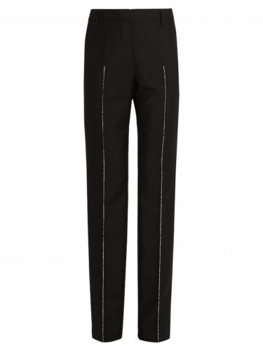 Jil Sander - Benjamin Straight-Leg Wool-Blend Pants - Black