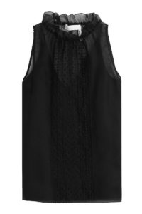 See By Chloé - Embroidered Top - Black