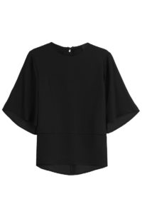Steffen Schraut - Blouse with Layered Look - Black