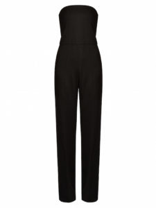 Stella McCartney - Malorie Strapless Wide-Leg Wool Jumpsuit