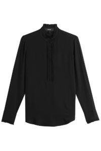 Theory - Silk Blouse - Black