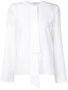 Givenchy - Pussy Bow Top - White