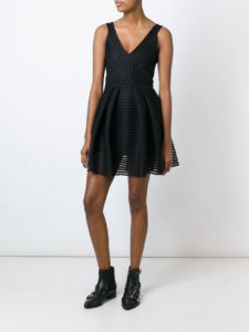 Philipp Plein - Deer Waves Dress - Black