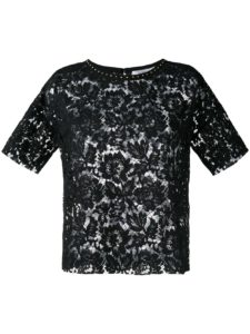 Valentino - Studded Heavy Lace Top