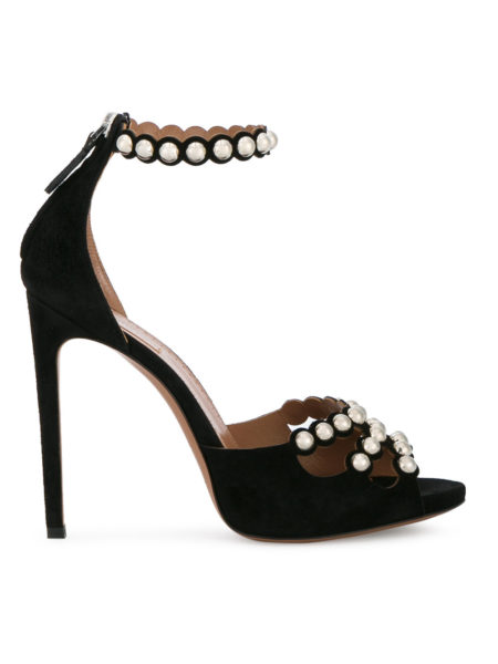 Alaia - Studded Ankle Strap Sandals