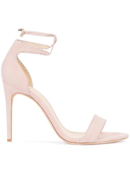 Alexandre Birman - Lace-Up Ankle Sandals - Pink