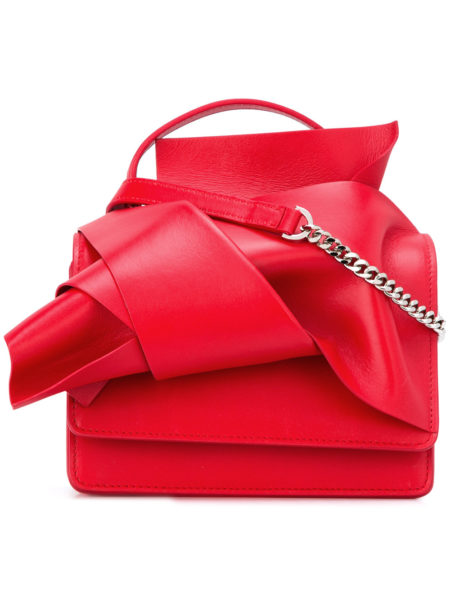 N 21 - Knotted Shoulder Bag - Red