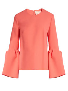 Roksanda - Truffaut Bell-Sleeved Top