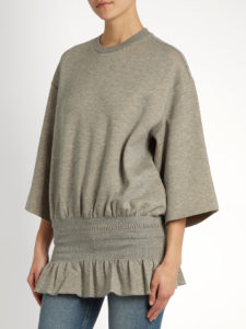 Stella McCartney - Wide-sleeve Peplum Top