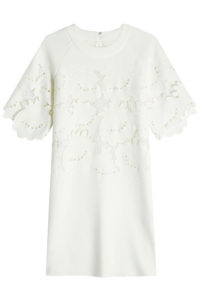 Victoria, Victoria Beckham - Dress with Embroidered Cut-Out Detail