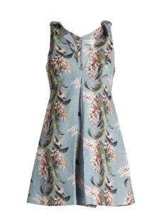 Zimmermann - Winsome Floral-print Linen Trapeze Dress