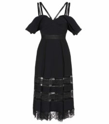 Self-Portrait - Embellished Dress - Black