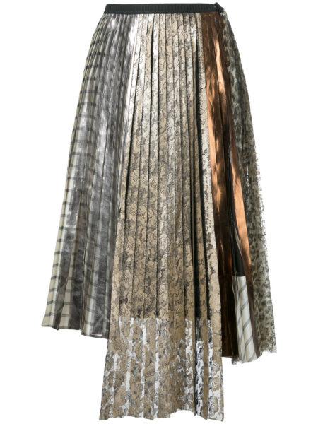 Antonio Marras - Lace Pleated Skirt