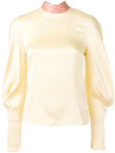 Roksanda - Myra Top - Yellow