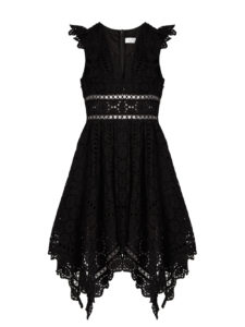 Zimmermann - Divinity Wheel Broderie-Anglaise Dress - Black