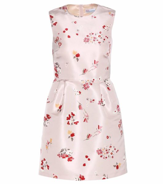 RED Valentino - Printed Dress - Pink