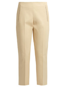 The Row - Nowa Stretch-Cotton Cropped Pants