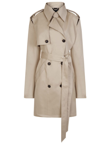 Y Project - Khaki Double Breasted Trench Coat