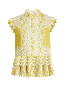 Erdem - Sam Degradé Guipure-Lace Blouse