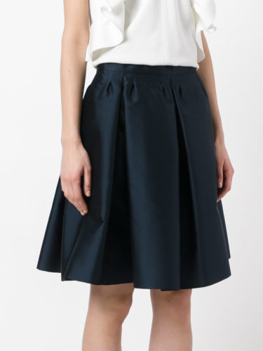 Red Valentino - A-line Skirt - Navy Blue 2