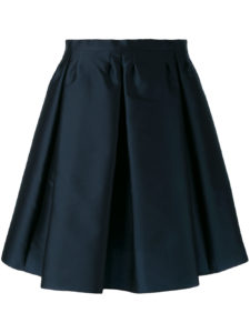 Red Valentino - A-line Skirt - Navy Blue