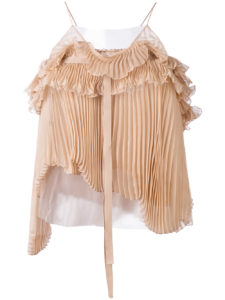 Rochas - Pleated Top