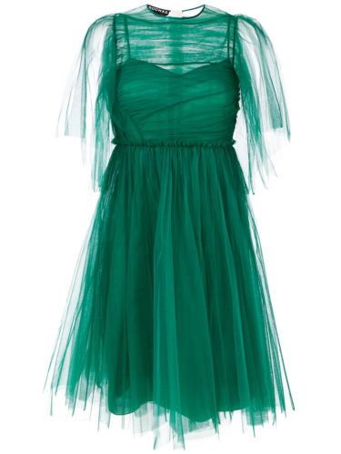 Rochas - Silk Pleated Maxi Dress