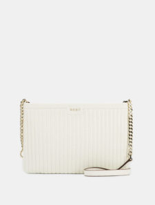 DKNY - GANSEVOORT PINSTRIPE QUILTED LAMB NAPPA CROSSBODY BAG Buy