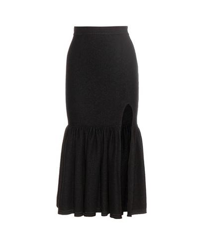 Givenchy - Wool Skirt - Black