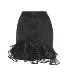 Isabel Marant - Vendel Pleated Silk-Blend Skirt - Black